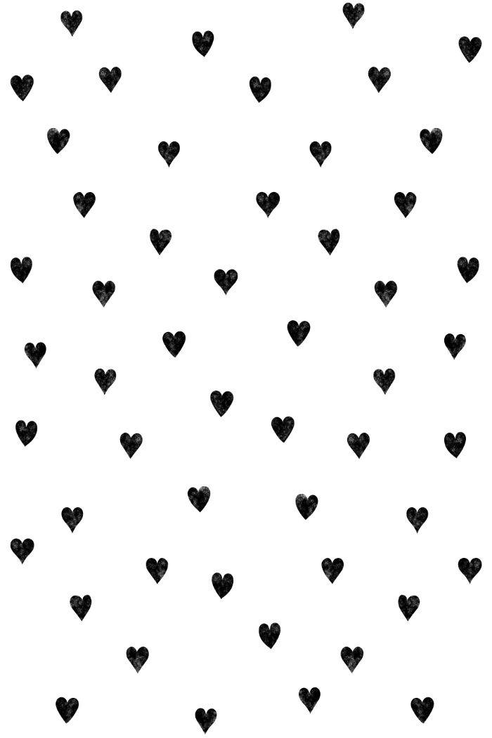 Hearts Pattern My Work Обои для телефона Обои для