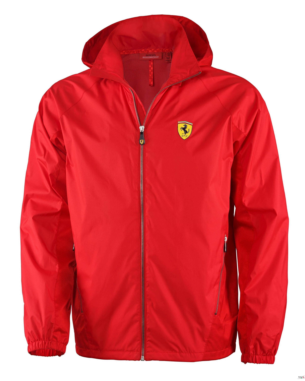 b9c72943dec88 Kurtka Ferrari Lightweight Jacket - Red CZERWONY | FERRARI MEN \ KAMIZELKI  I KURTKI | Fbutik | Scuderia Ferrari Collection