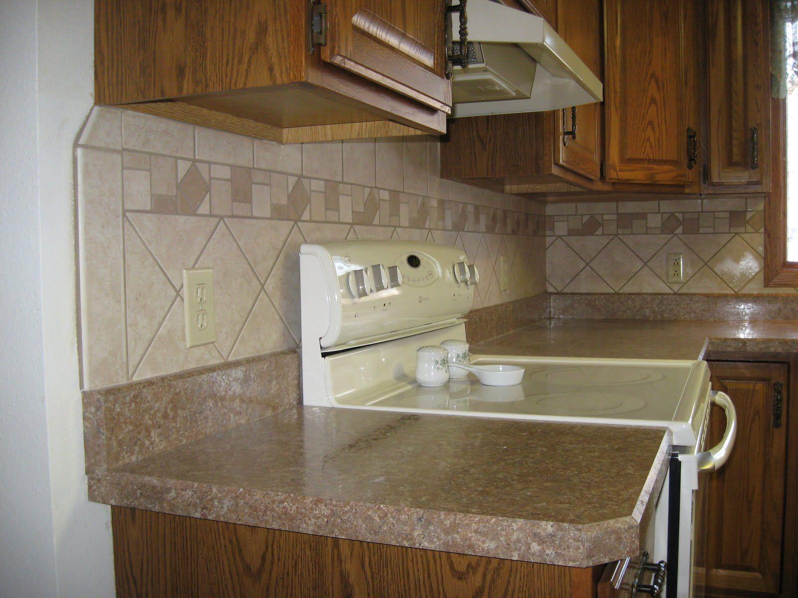 Laminate Backsplash Ideas Part - 44: Kitchens With Wilson Art Hd | High Definition Counter Top And Tile Back  Splash