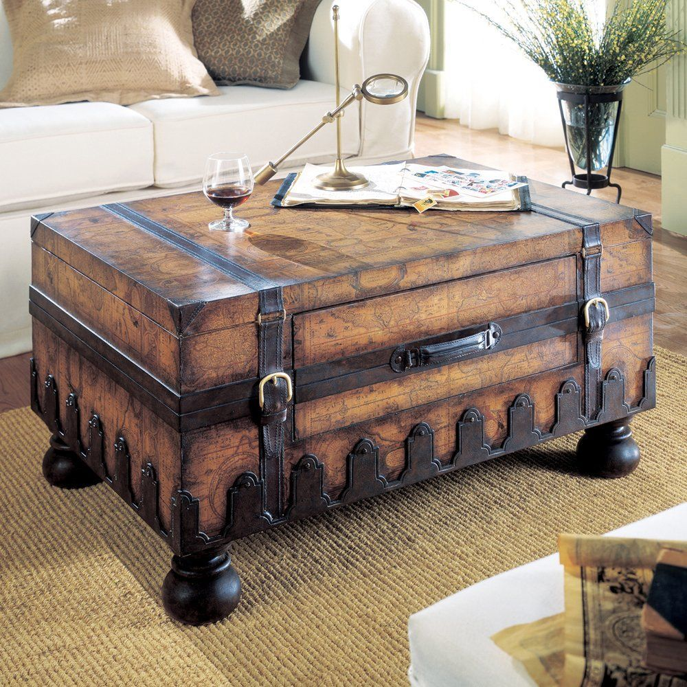 Peters Revington Coffee Table In 2020 Coffee Table Trunk Chest Coffee Table Trunk Table [ 1000 x 1000 Pixel ]