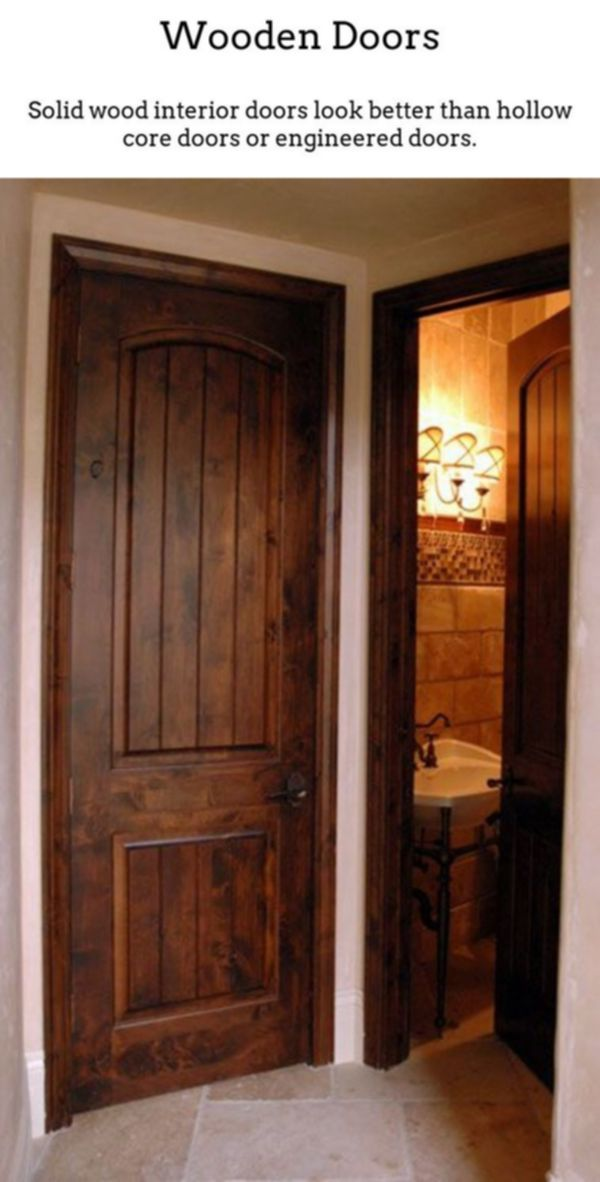 Wooden Doors Real Wood Doorways Are Fantastic If You Live In A