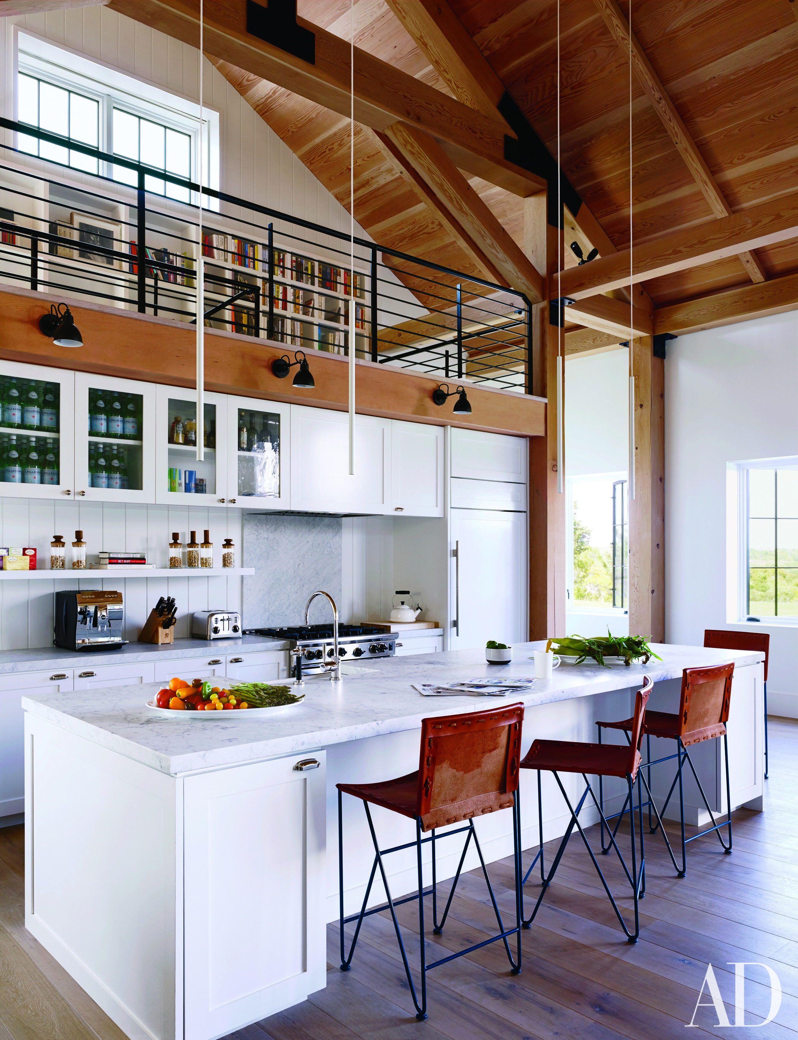Modern Kitchen Images Architectural Digest get the look of this modern beach-house kitchenashe + leandro