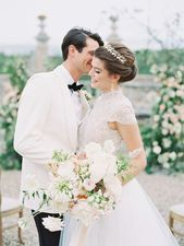 A Touch of Regality at the Castello di Celsa, Siena – NKT Events  Hochzeitsredak…