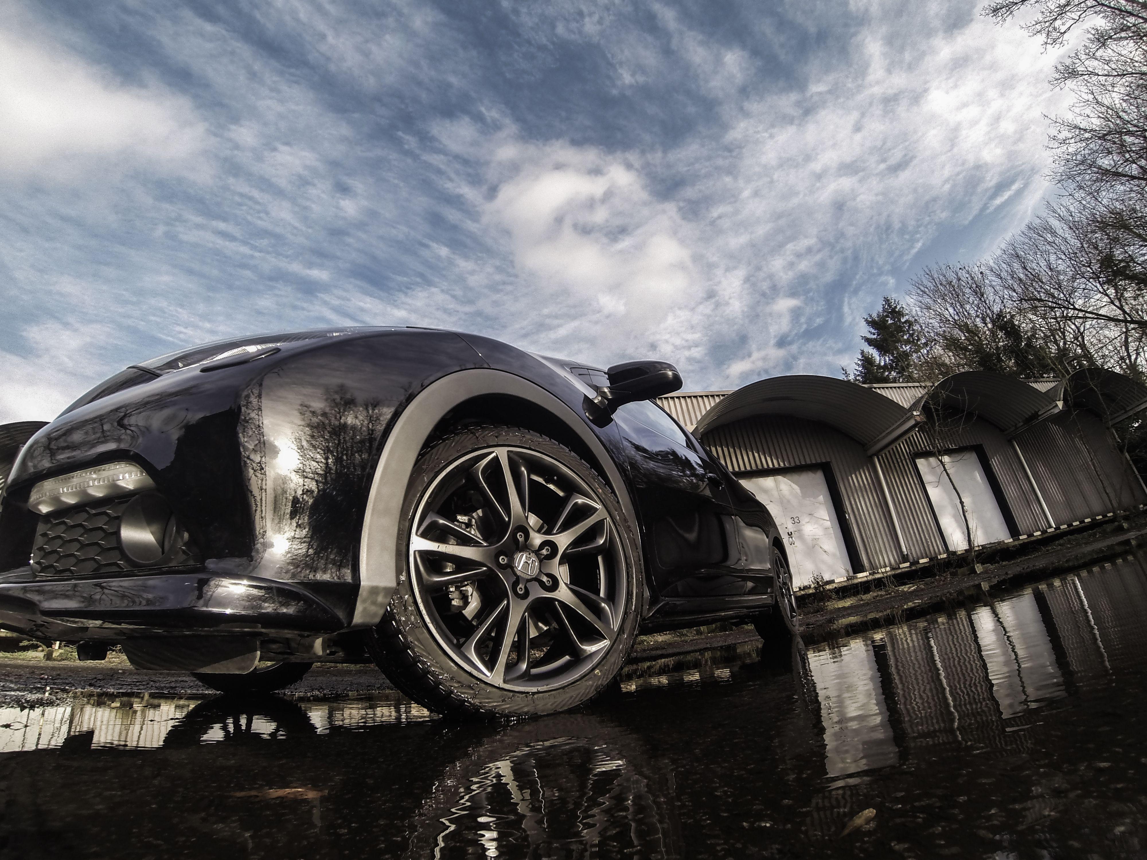 Honda Civic 2014 Black Edition concept