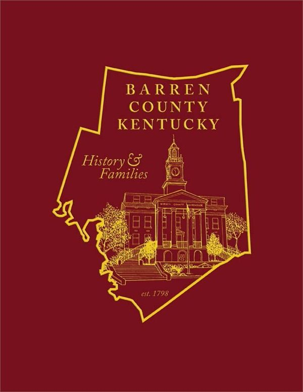Barren County Kentucky History And Families | History_Barren Co KY