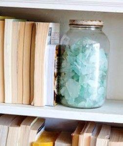Mason Jar Bookends Diy Bookends Decorative Bookends Bookends