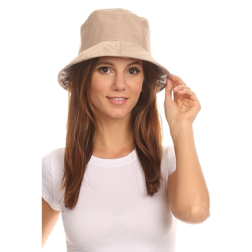 Twist to Pack Rain Hat Mens Bucket Hats d96167f6266