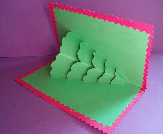 12 awesome postales de navidad originales hechas a mano for Tarjetas de navidad hechas por ninos
