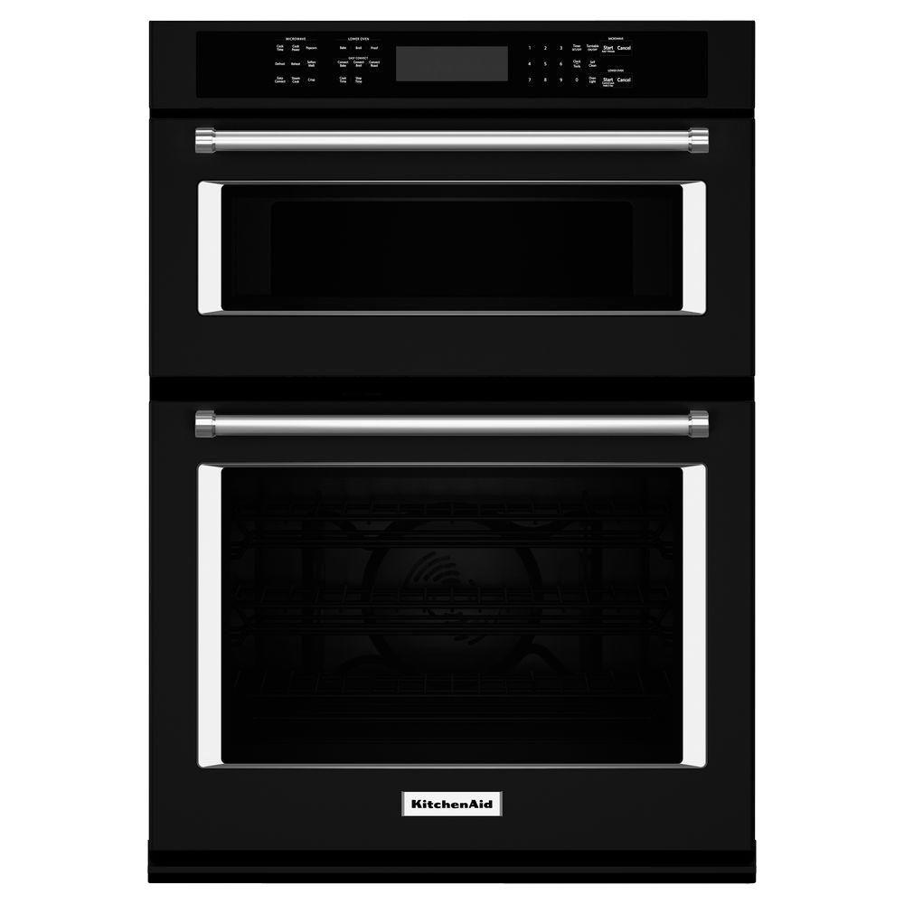 Kitchenaid 30 In Electric Even Heat True Convection Wall Oven