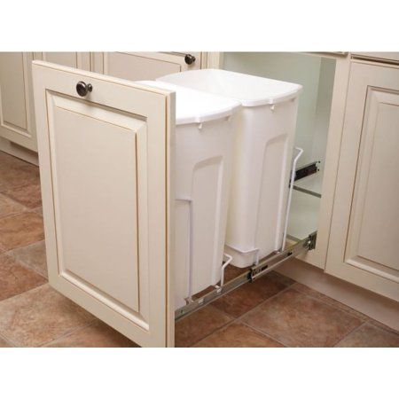Home In 2019 Products Kitchen Trash Cans Trash Can Cabinet