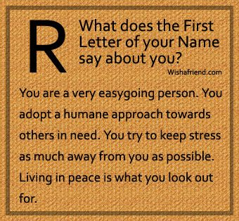 name letter by astrology