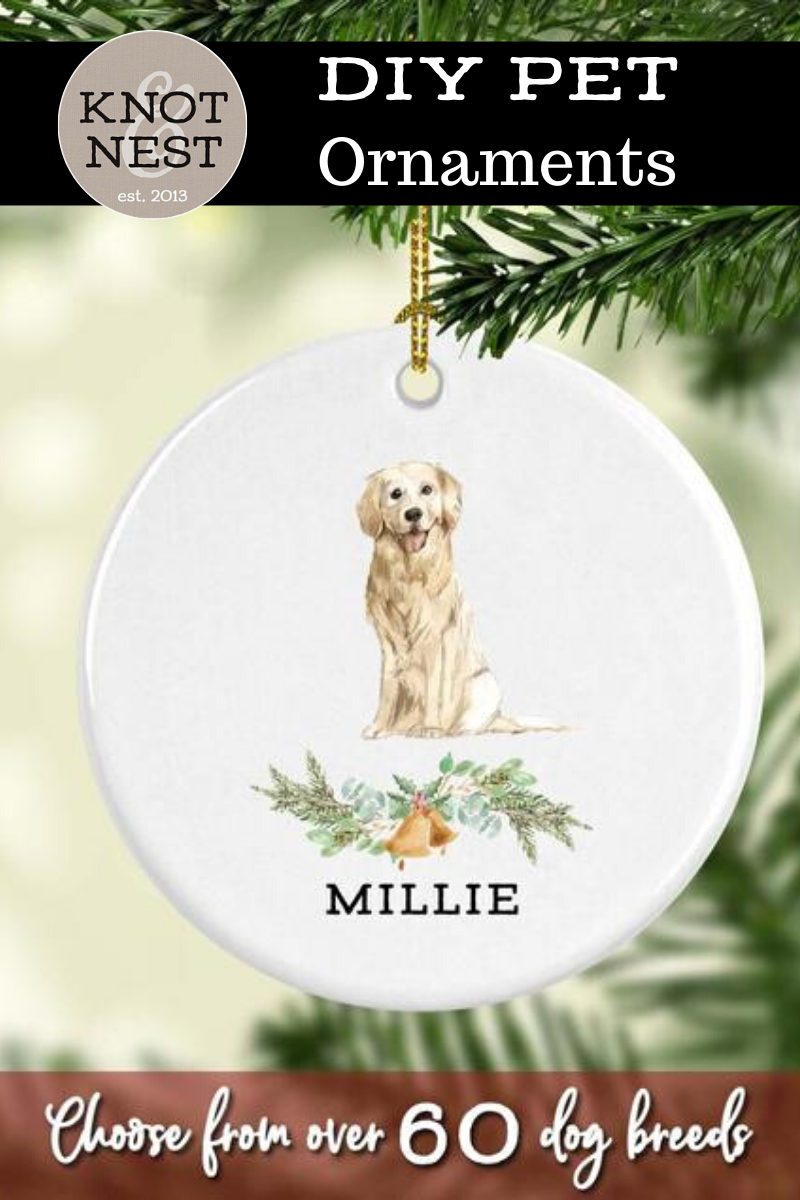 Dog Lover Personalized Gift Ideas Diy Xmas Gifts Hand Painted Pet Personalized Gifts