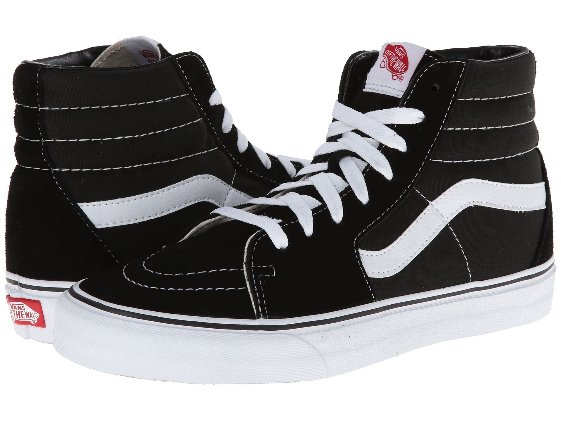 1dfec77f3768 Vans Men s Pro Black White Skate Shoe This shoe is so rad that it was brought  back to life from the past so that you can wear it yourself.