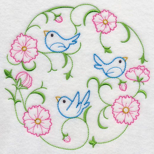 Machine Embroidery Designs at Embroidery Library! - Color Change - H6540