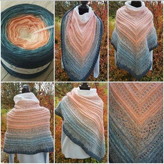 Schlauchdingens Pdf Häkelanleitung Scarfs Pinterest Crochet