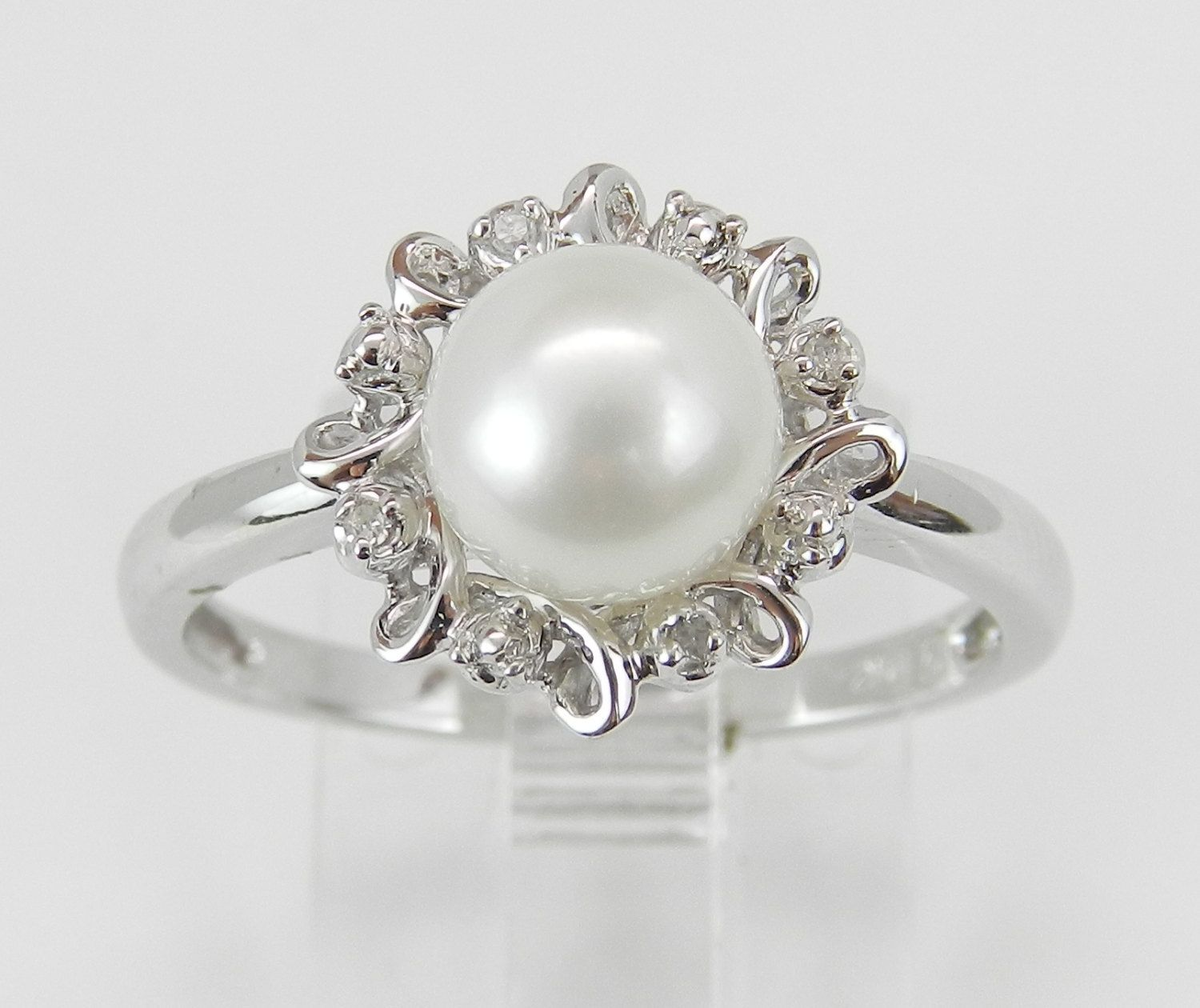 engagement with ring silver regard to gallery viewing celtic attachment non of june rings photo sterling previous band pearl birthstone