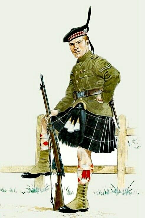 6th Highland Light Infantry, Corporal 1914 - pin by Paolo Marzioli