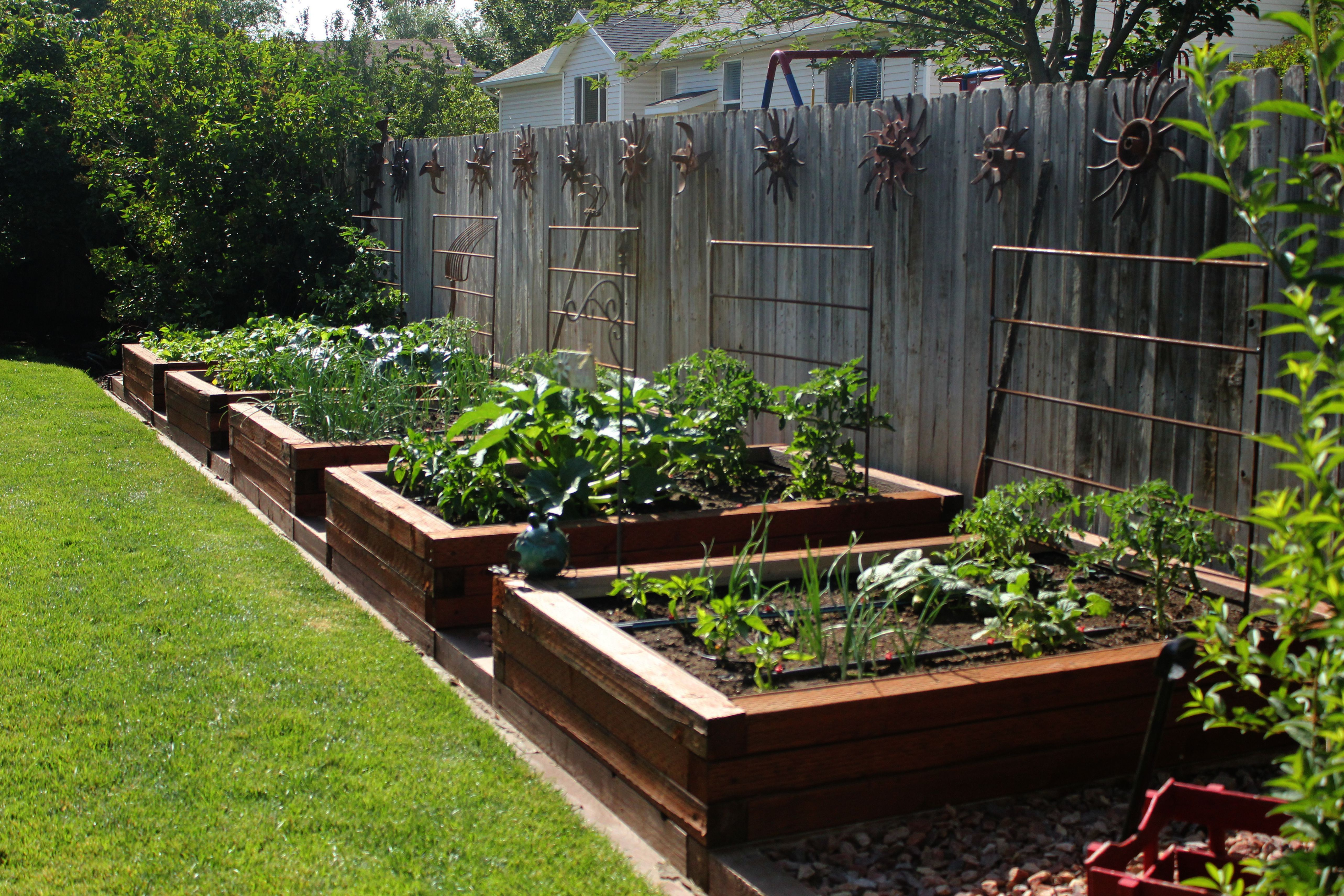 Raised Garden Bed Plans Railroad Ties Although Garden Landscaping Exeter Lawn Design Garden Layout Home Vegetable Garden