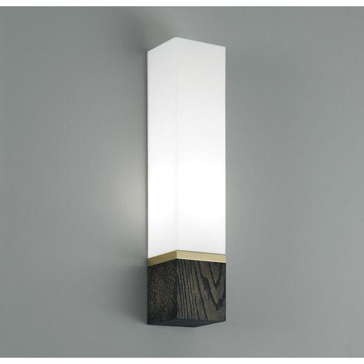 ILEX Lighting Cube 1 Light Tall Wall Sconce