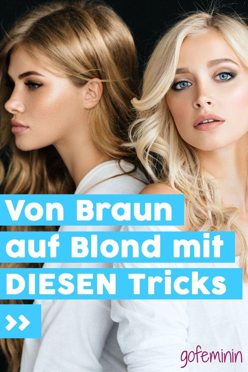 Von Braun Auf Blond Mit Diesen Methoden Und Tipps Klappt S