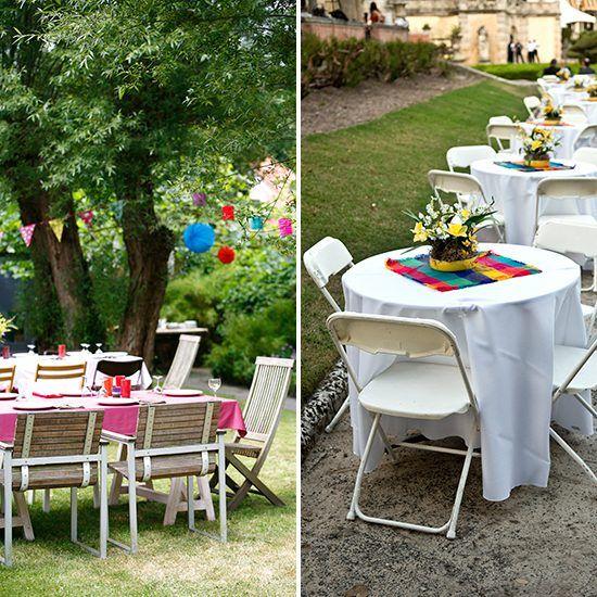 10th Wedding Anniversary Garden Party Decoration