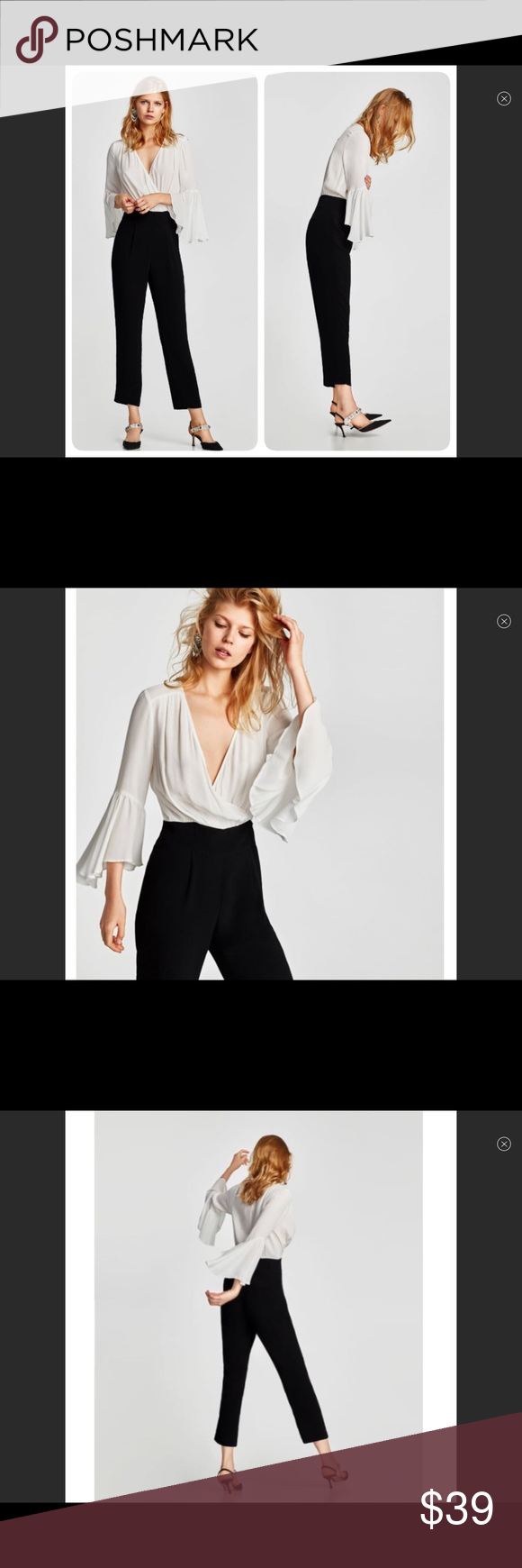 89c2477af4e Black And White Jumpsuit Zara - Data Dynamic AG
