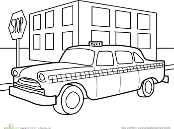 coloring pages for transportation units - photo#28
