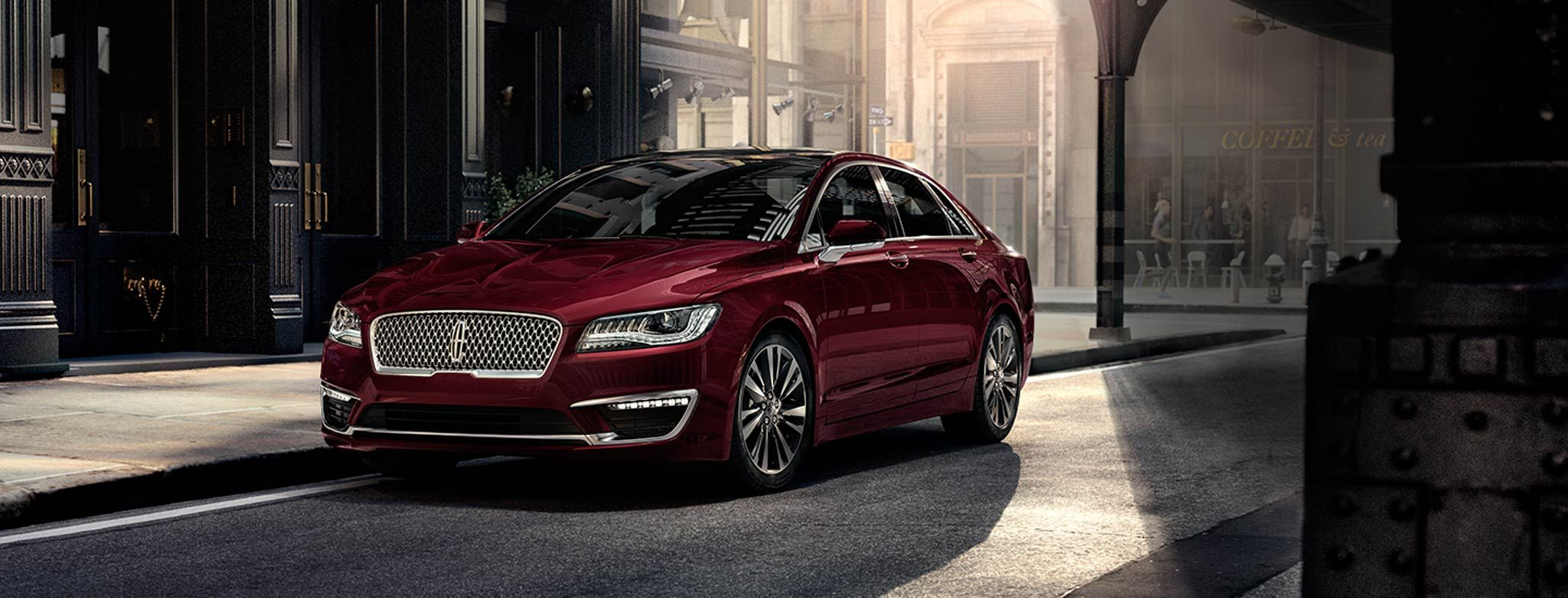 Steet Ponte Ford >> 2017 Lincoln MKZ : Lincoln Motor Company™ - Luxury Cars ...