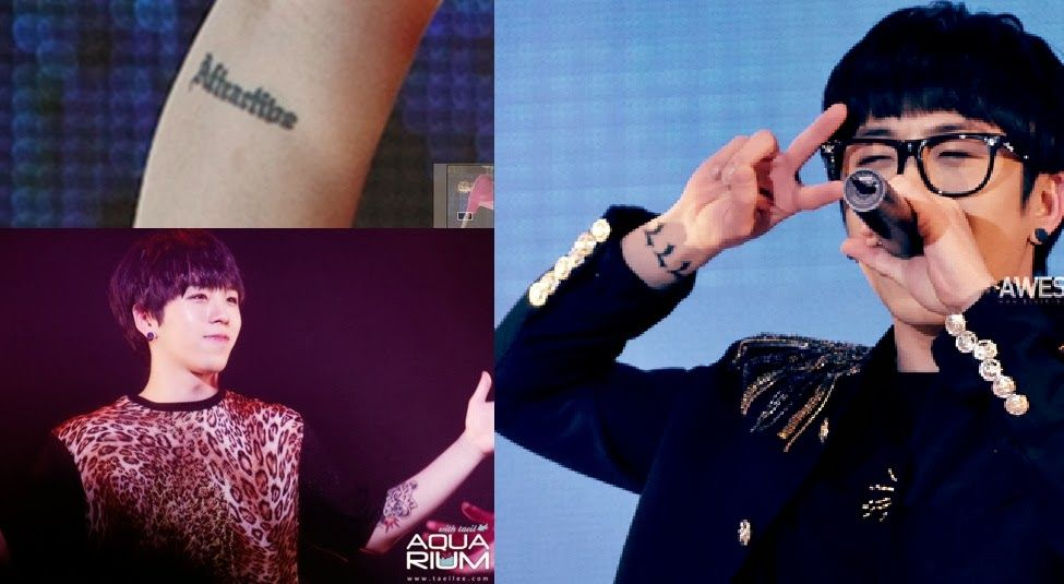 The Curious Case Of Korean Idols Tattoos And The Army Korean Idol Idol Tattoo Quiz