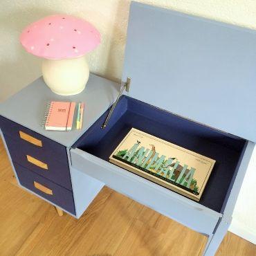 ferdinand le bureau r tro des ann es 60 sur chouette fabrique la. Black Bedroom Furniture Sets. Home Design Ideas