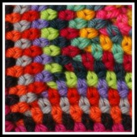 Tight Weave Tweed Stitch. Great in lots of Colors!