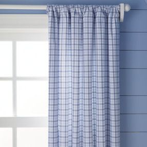 Boys Curtains Boys Light Blue Plaid Curtains Plaid Curtains