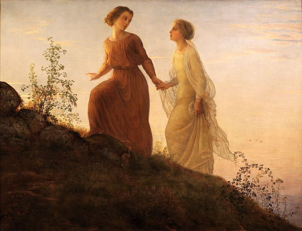 Louis Janmot, from his series 'The Poem of the Soul' , before 1854