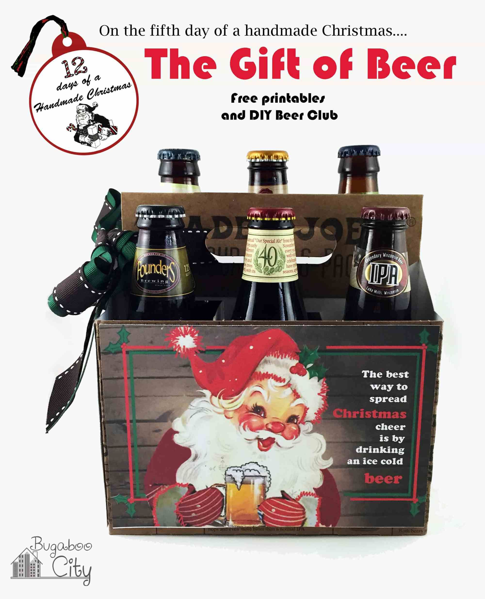 The Gift Of Beer Holiday Beer Beer Christmas Gifts Christmas Beer