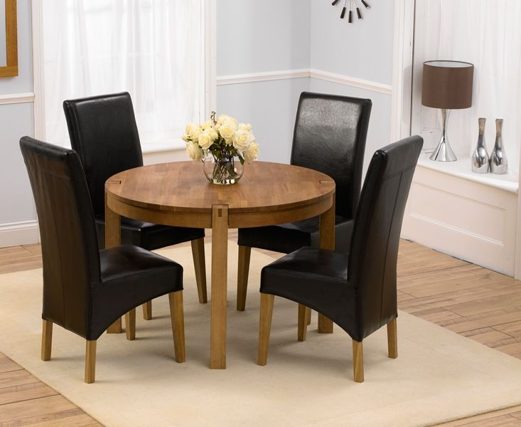 Verona 150Cm Solid Oak Dining Table With Venezia Chairs Stunning Round Dining Room Tables For Sale Design Ideas