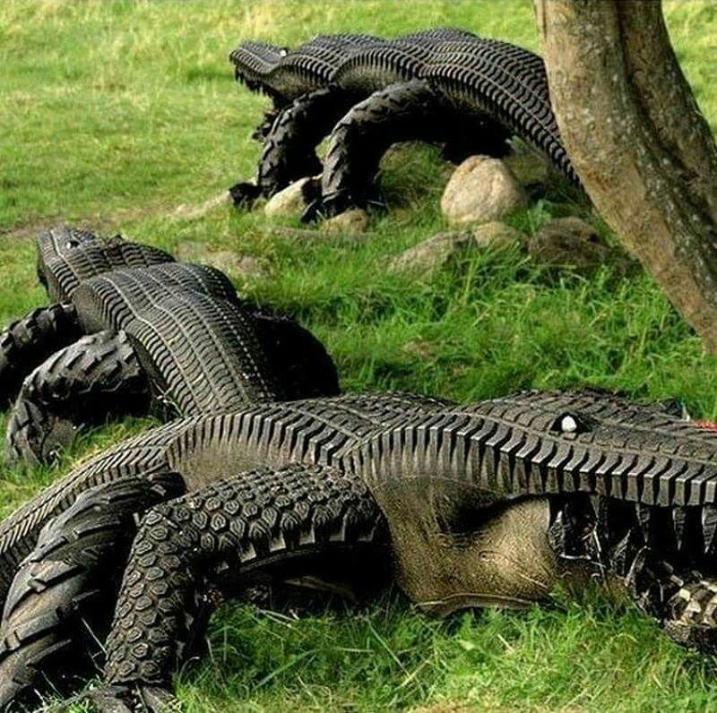 Great uses for old tires