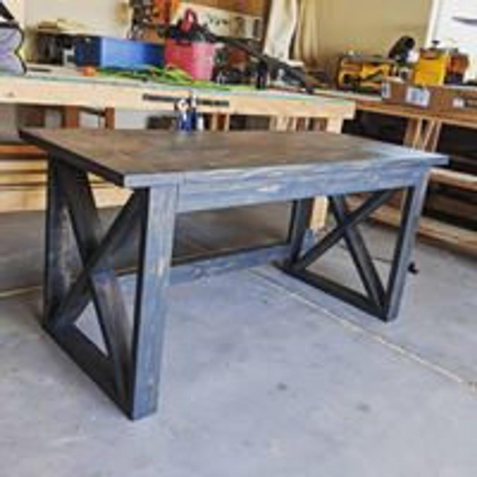 Custom Handmade Rustic Farmhouse Writing Desk Etsy In 2020 Simple Desk Diy Desk Plans Diy Desk