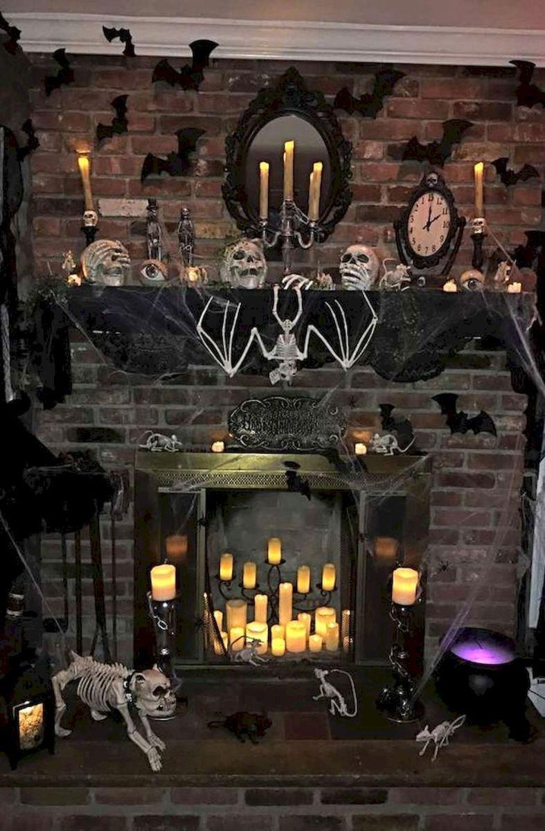 50 Stunning Halloween Decoration Indoor Ideas (1