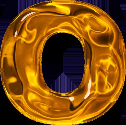O Dr Odd Alphabet Gold Letters Letter Logo Design