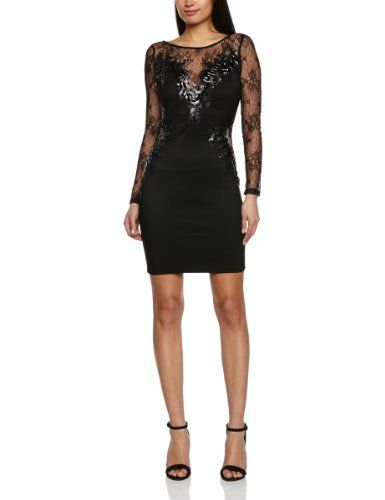 lipsy Long Sleeve Lace Body Con Women\'s Dress [UK & Ireland] £65.00 ...