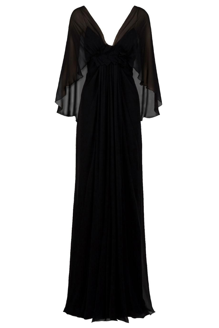 Elegant black caped sheath dress darkling pinterest black cape
