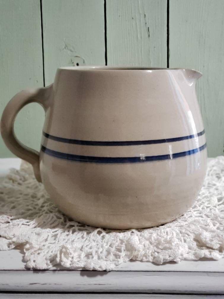 b75cda5b58c65 Hot Air Balloons Mug Vintage Stoneware Pottery Mug Multi-Color ...