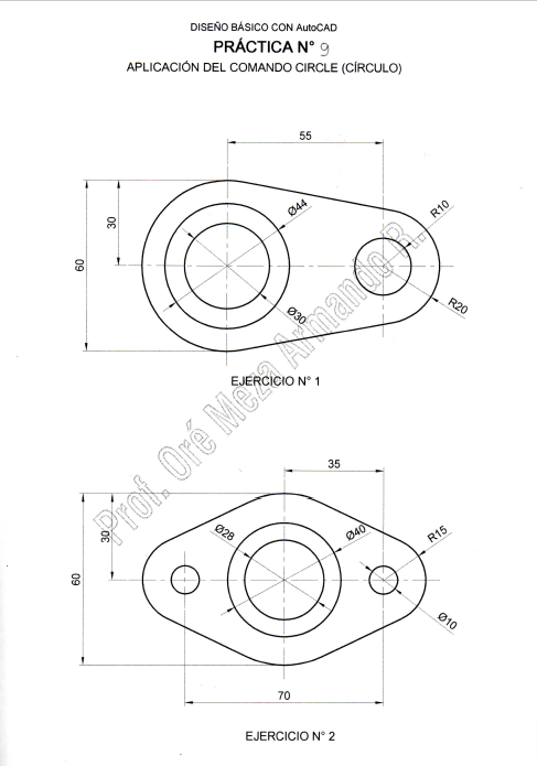 Ejercicios Dibujo Tecnico Ejercicios Tecnicas De Dibujo Planos Mecanicos