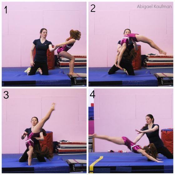 Quick Tip Developing Strong Back Handsprings Swing Big Gymnastics Skills Tumbling Gymnastics Gymnastics Coaching