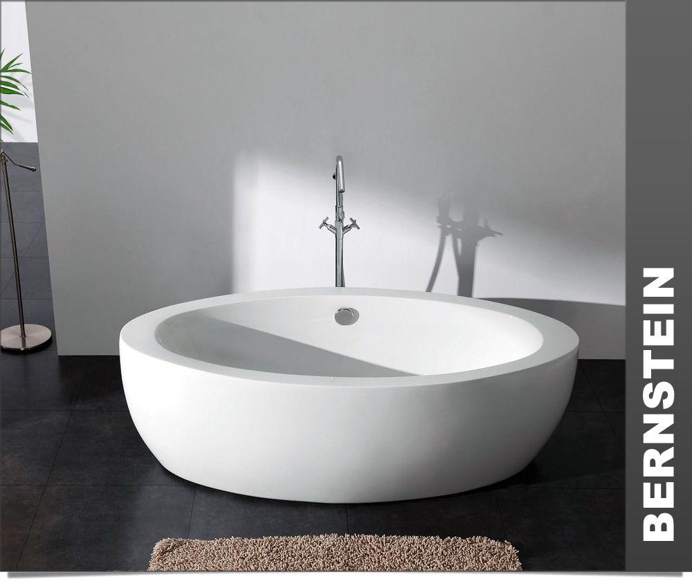 Freistehende Badewanne Modena Acryl 185x91 Inkl Ablauf Badewanne Freistehende Badewanne Badezimmer Design