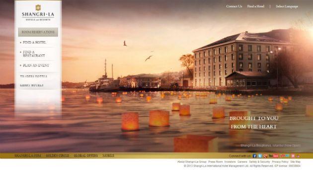 Shangri La 20 Best Hotel Website Designs For Your Design Inspiration
