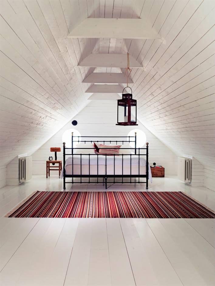 This Room Is So Perfect For Me Salah Satu Ide Bagus Untuk Penataan Ruang Di Loteng Yes Its Attic Ideas Met Afbeeldingen Thuis Zolder Slaapkamer Huisstijl