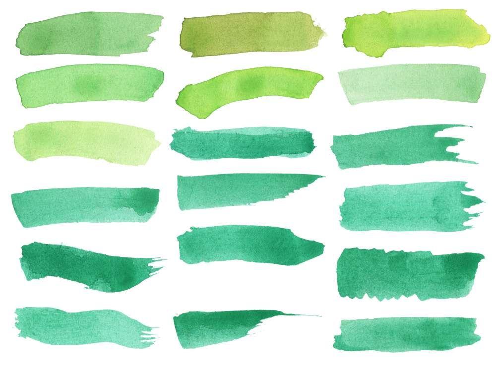 18 Green Watercolor Brush Stroke Banner Png Transparent Onlygfx Com Green Watercolor Watercolor Brushes Brush Stroke Png