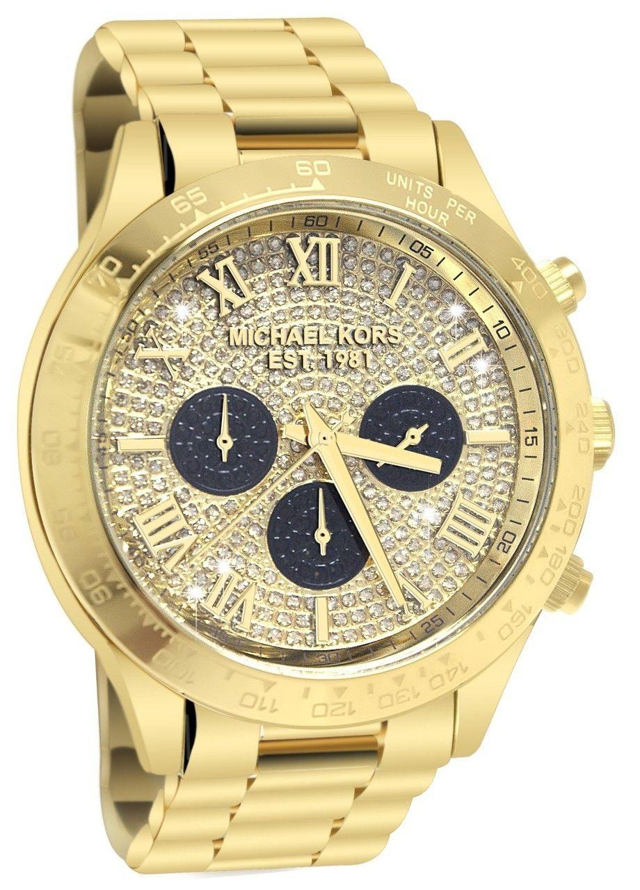 Michael Kors MK5830 Layton Glitz Women s Watch   Want   Watches ... fa22ff8177