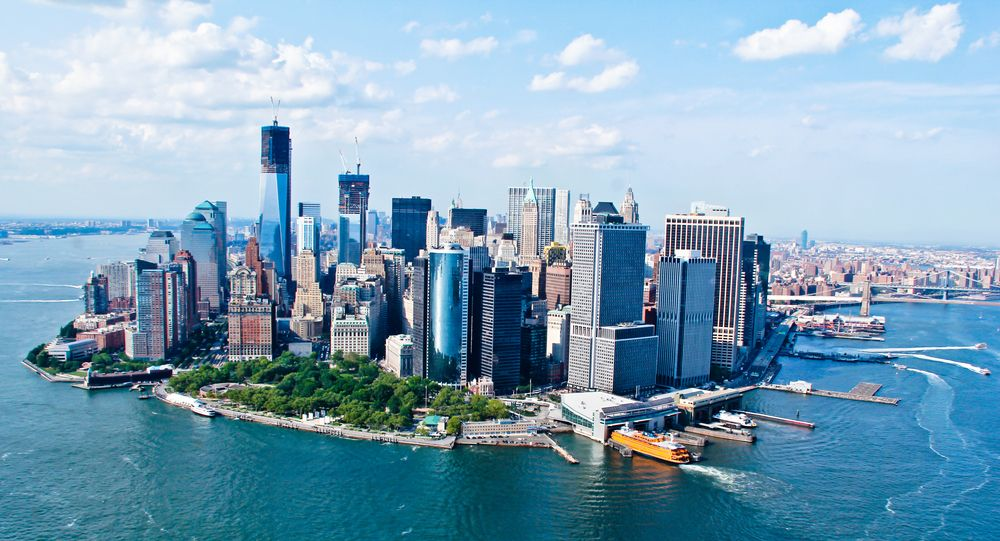 New York City Sky View. We offer instructor led Aerial